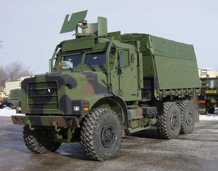 Oshkosh Military Trucks | MTVR Up-armored PS