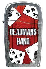 Zippo BLU Lighter - Deadman's Hand 30051