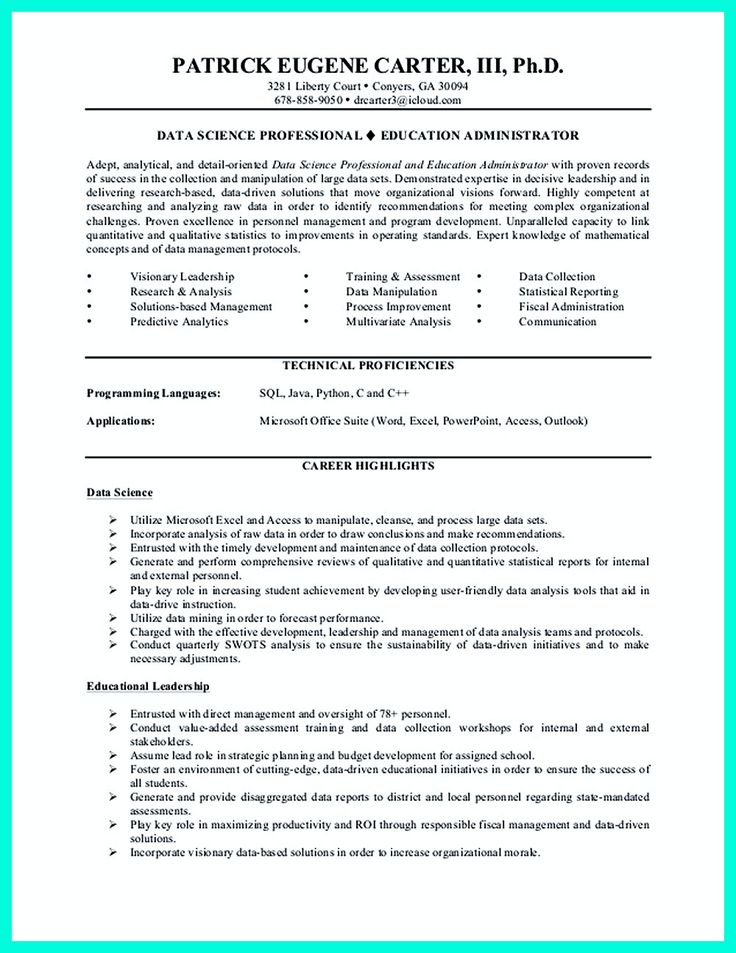cv data scientist francais pdf