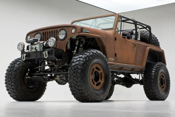 """Saw it on """"Morris 4 x 4 centre"""" facebook page. Looks awesome. #Jeep #wrangler"""