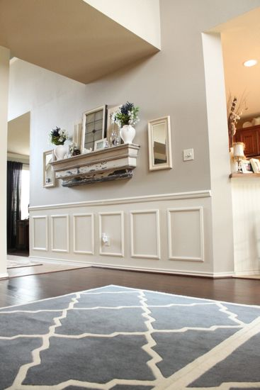 A Beautiful Living Room Makeover {by Emily from Decor Chick!}   Beneath My Heart two 5 x 8 rugs taped together genius.