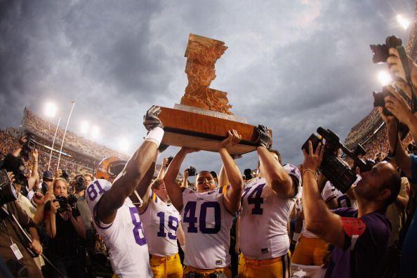 LSU – Arkansas Battle for the Golden Boot [PHOTOS]