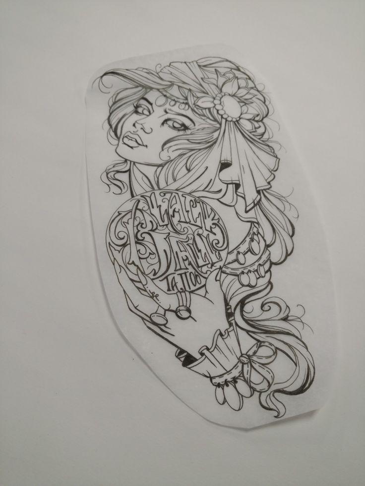 best 25 gypsy tattoo design ideas on pinterest thigh