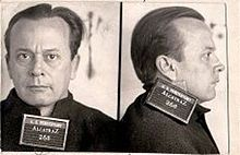 """Arthur R. Barker (June 4, 1899 – January 13, 1939) was an American criminal, the son of Ma Barker and a member of the Barker-Karpis gang, founded by his brother Fred Barker and Alvin Karpis. Arthur, generally known as """"Doc"""", was typically called on for violent action, while Fred and Karpis planned the gang's crimes. He was arrested and convicted of kidnapping in 1935. Sent to Alcatraz in 1936, he was killed three years later while attempting to escape from the Rock."""