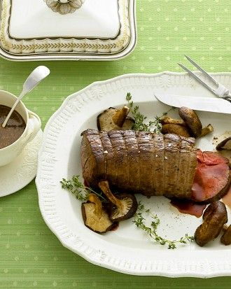 """See the """"Beef Tenderloin with Mushrooms and Thyme"""" in our  gallery"""