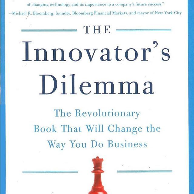 #PaidToday #business #reading #bestseller #innovator #books #entrepreneur  Today's reading suggestion:  The Innovator's Dilemma by Clayton M. Christensen  Overview:  The Innovator's Dilemma is the revolutionary business book that has forever changed corporate America. Based on a truly radical idea—that great companies can fail precisely because they do everything right—this Wall Street Journal, Business Week and New York Times Business bestseller is one of the most provocative and important…