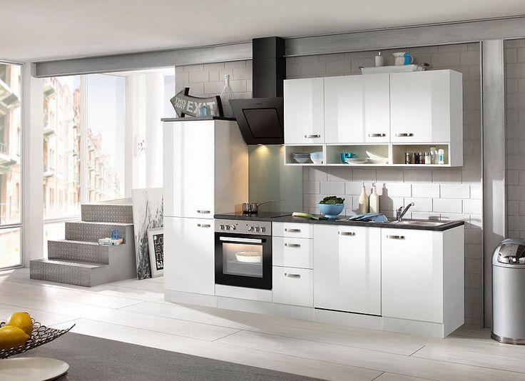 OPTIFIT Küchenzeile mit E-Geräten »Lagos, Breite 270 cm« Jetzt - küchenblock ohne e geräte