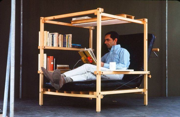 Nomadic Furniture 3.0 - This is one case where form won over function. I'm pinning it only because I think there might be some inspiration to be found...