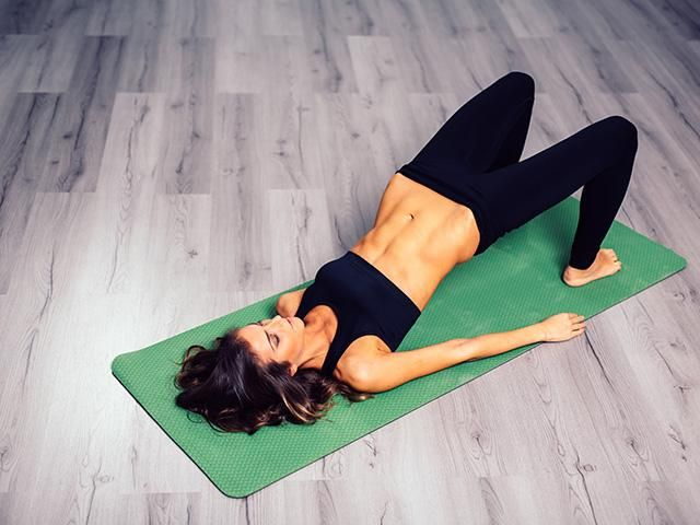 Pilates woman with abs - mistakes to avoid - womens health uk