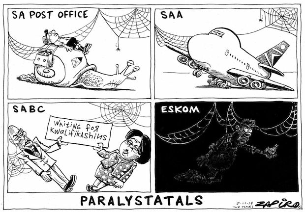 Paralystatals published in The Times on 5 Nov 2014