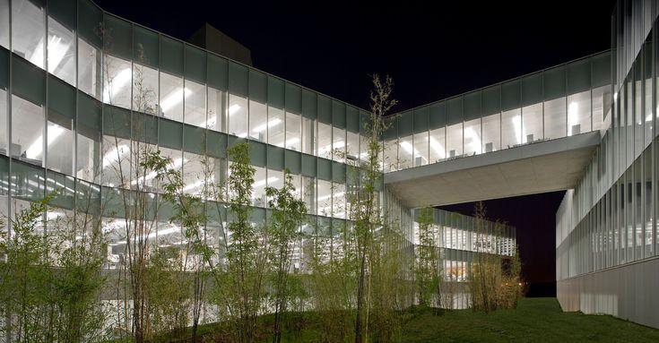 Proyecto oficinas gamesa e lica arquitecto francisco for Oficinas bankinter pamplona