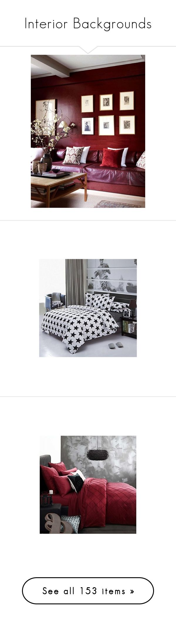 """Interior Backgrounds"" by noconfessions ❤ liked on Polyvore featuring home, bed & bath, bedding, contemporary, duvet covers, black and white twin bedding, black and white king size bedding, king bedding, queen bedding and king size bedding sets"