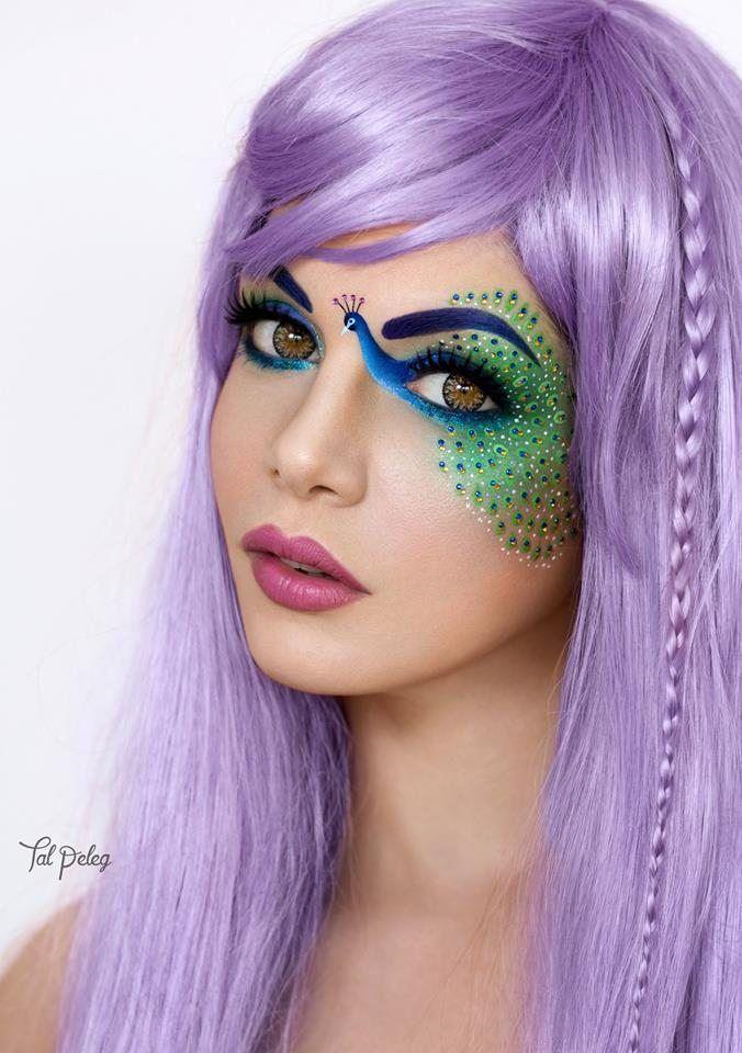 Tal Peleg je opravdová kouzelnice s makeupem.