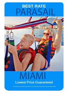 Parasail Key West, this is an experience you will never forget.  This is so exciting, so much fun you will want to do it again.  For the best prices and deals check out www.MiamiSightSeeingTours.com