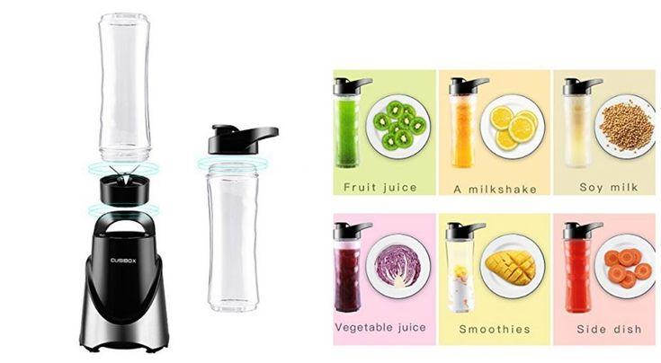 Electric Blender Personal Smoothie Maker Fruit Juicer Portable Bottle 300W Mini  #PersonalBlenders