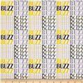 Kanvas What's The Buzz Buzz Words White