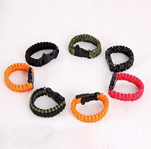 Rover Camel RC011 Outdoor Unreflective Rope Lanyard Lifesaving Emergency Survival Bracelet Work 9cores Selfdefense Weaponry Whistles *** Click image for more details.(This is an Amazon affiliate link and I receive a commission for the sales)