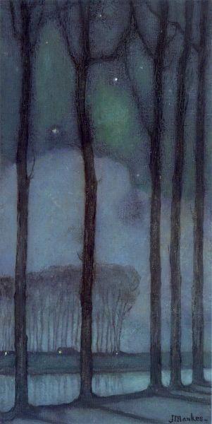 ☼ Painterly Landscape Escape ☼ landscape painting by Jan Mankes