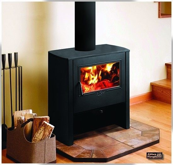 Camano Freestanding Wood Heater, Solid Fuel Fireplaces