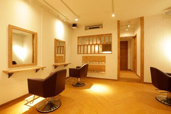 美容室 デザイン hair salon Ljus   Tracks 美容室の内装デザイン/店舗設計【トラックス】