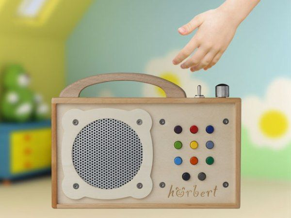MP3 Player for kids by Hörbert