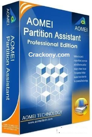 AOMEI Partition Assistant 6.0 Crack & Serial Keys are usedto create, resize, move, merge, and split partitions without losing data to maximize disk space.