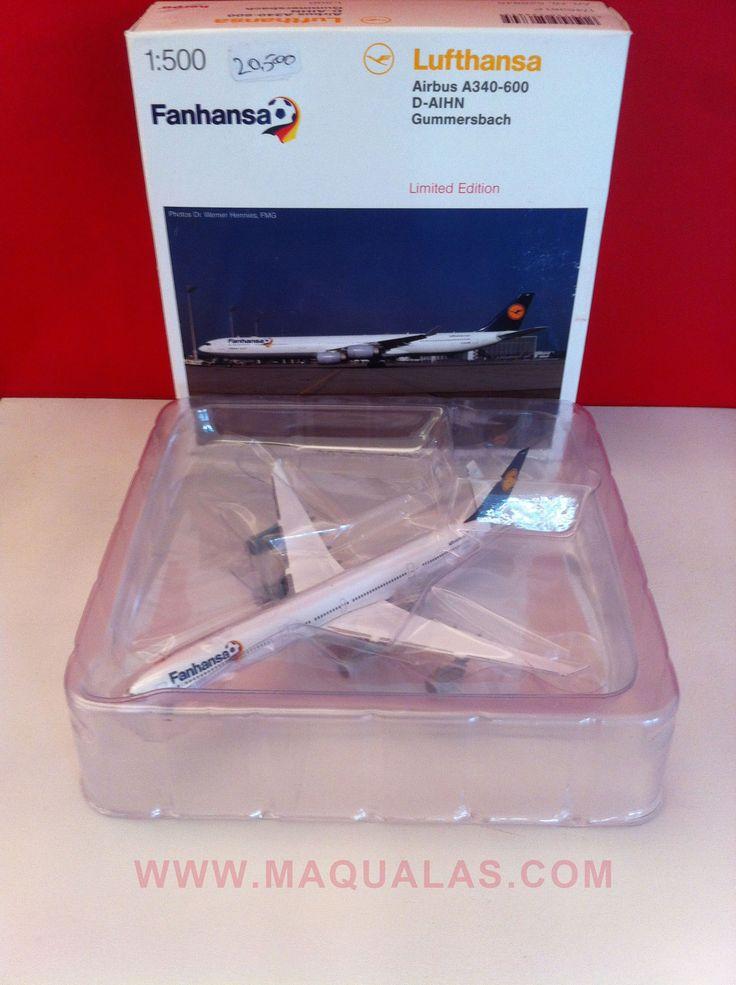 De Nuevo en stock, edicion LIMITADA!!! Agotado en Alemania!!! Muy Exclusivo!!! Herpa 526845 mas info: http://www.maqualas.cl/es/home/145-airbus-a340-600-lufthansa-fanasa-4013150526845.html