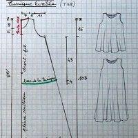 Tuto robe trapèze