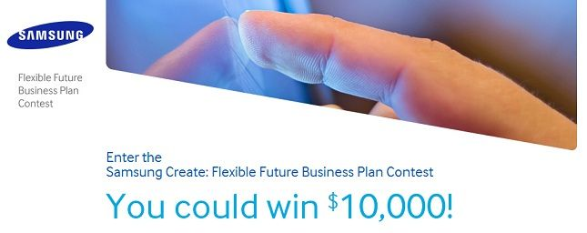 Samsung contest promises $10000 to the best flexible display device design - Samsung has just launched a new contest that aims to bring in ideas about what to do with their flexible displays. The winner of the contest gets $10000 while second and third place take home $5000 and $2500 respectively. The idea behind the contest is really quite simple. People are to design a device that they believe could best make use of Samsung's new flexible display technology. | Android Authority