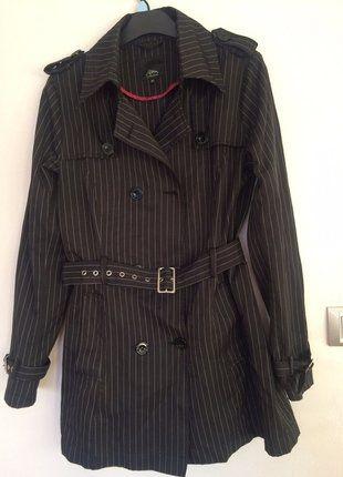 Kupuj mé předměty na #vinted http://www.vinted.cz/damske-obleceni/plaste-and-trenckoty/14849418-jarni-kabat-trenckot-s-prouzky-trenchcoat