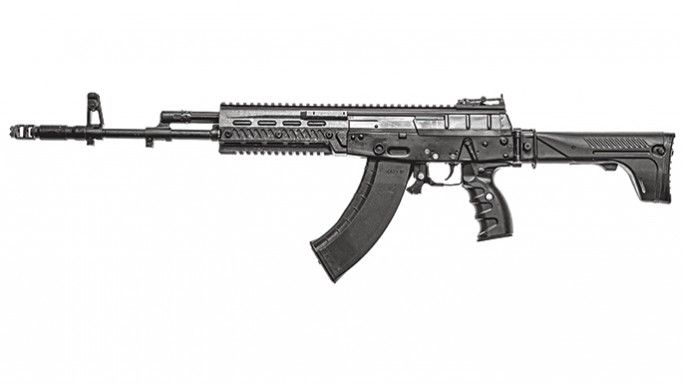 Kalashnikov Concern AK-12 soloLoading that magazine is a pain! Get your Magazine speedloader today! http://www.amazon.com/shops/raeind
