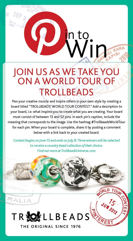 Trollbeads World Tour Contest