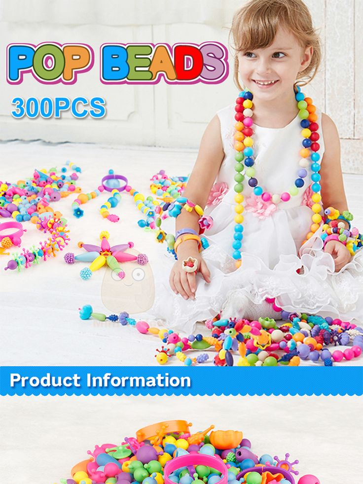 POP BEADS JEWELRY FOR KIDS