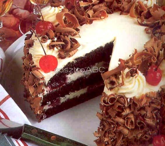 Fekete-erdő torta | Receptek | gasztroABC