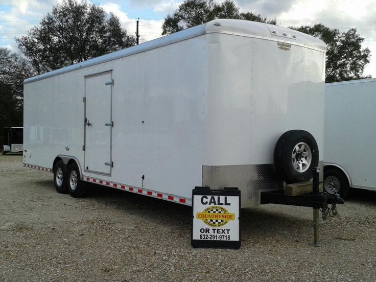 2016 Continental Cargo 8.5 X 28 CARGO TRAILER Enclosed Cargo Trailer | Countryside Trailer Sales -Trailers For Sale Trailers for Rent Trailer Repair service Storage Facility Trailer Dealer Spring Texas Dealer Flatbed, Gooseneck, Utility, Dump, Cargo, and Specialty