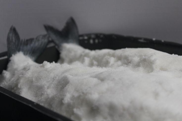 Recept zeebaars in zoutkorst