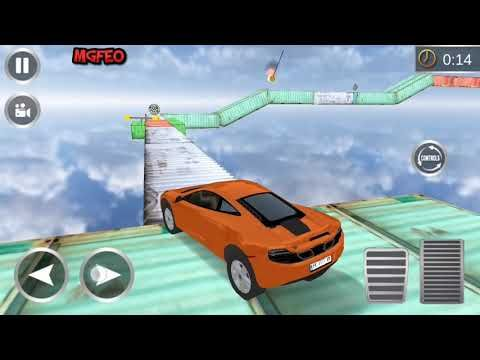 Car Stunts On Impossible Track Best Android Game Play Hd Best