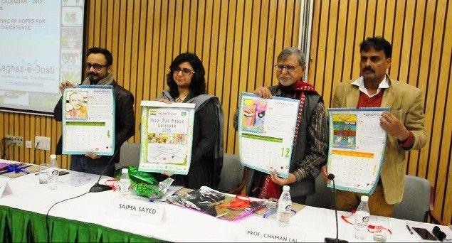 Aaghaz-e-Dosti launches calendar to endorse peace between India, Pakistan #IndiawithPakistan