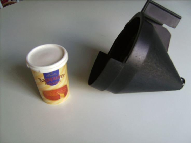 Rengøring af kaffetragt