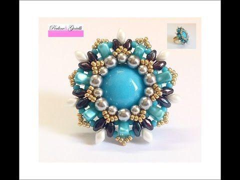 Anello Kira collaborazione con Perline e Gioielli (DIY Tutorial Kira Ring), My Crafts and DIY