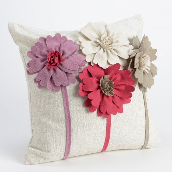 coussin fleurs amadeus coussins et galette de chaise pinterest oreiller fleur fleurs et. Black Bedroom Furniture Sets. Home Design Ideas