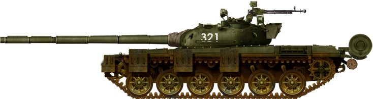 T-72 early side skirts