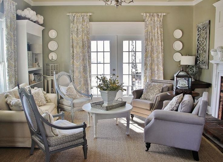 Looking to add a little color to your neutral room? Why not try yellow…