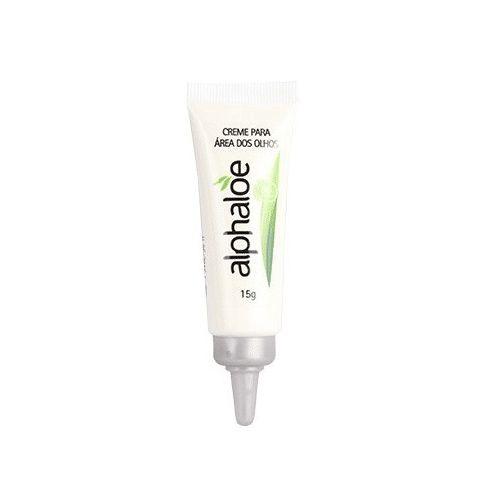 O Creme Para Área dos Olhos Alphaloe possui em sua fórmula ação antioxidante, hidratante, suavizante, descongestionante e regeneradora.