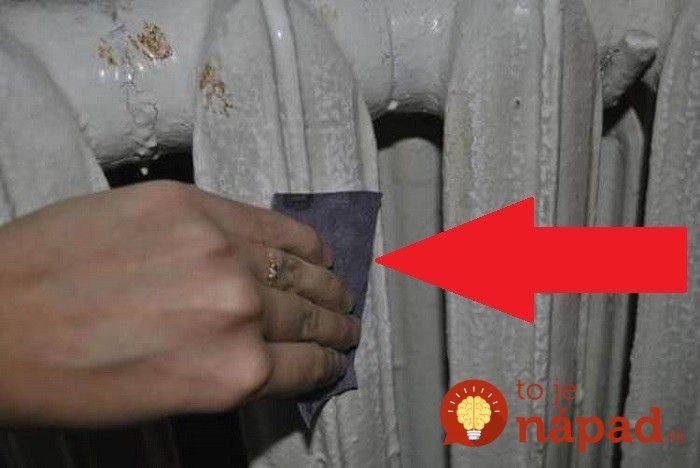 V byte malá staré a škaredé radiátory: Keď uvidíte, čo s nimi vymyslela, už sa ich nebudete snažiť ukrývať za nábytkom!