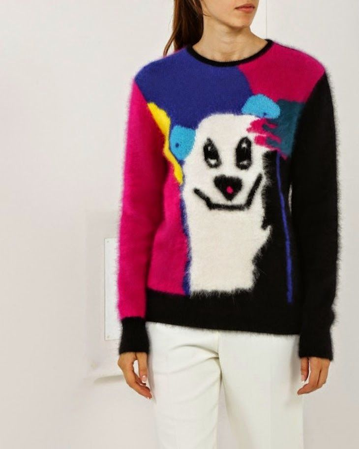 maglione colorato cartoon #fashion #knitwear #maglieria #pants #pantaloni #fashionblogger #lifestyleblogger #style #coat #cappotti #cool #elegant #sporty #travel #travelfashion #travelling #lifestyle #winter #winterfashion #sweater #maglione #cartoon
