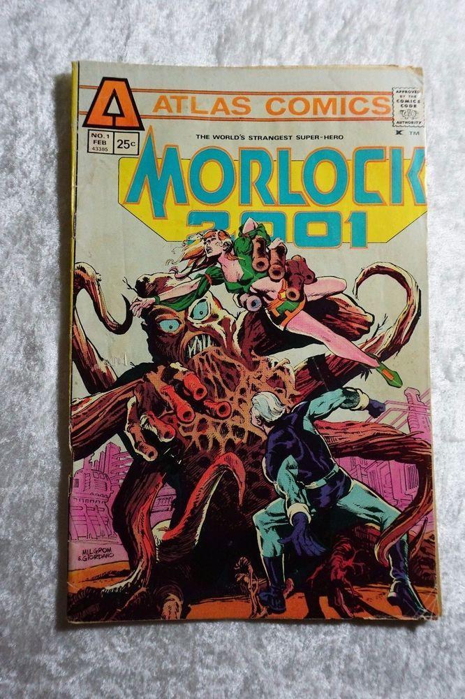 1970s Morlock 2001 #1,  Bronze Age Comic Book, Atlas Comics, Huge Comic Sale