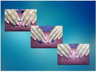 Cerasela Blog: 3 modele de unghii cu roz nuanta Amaryllis