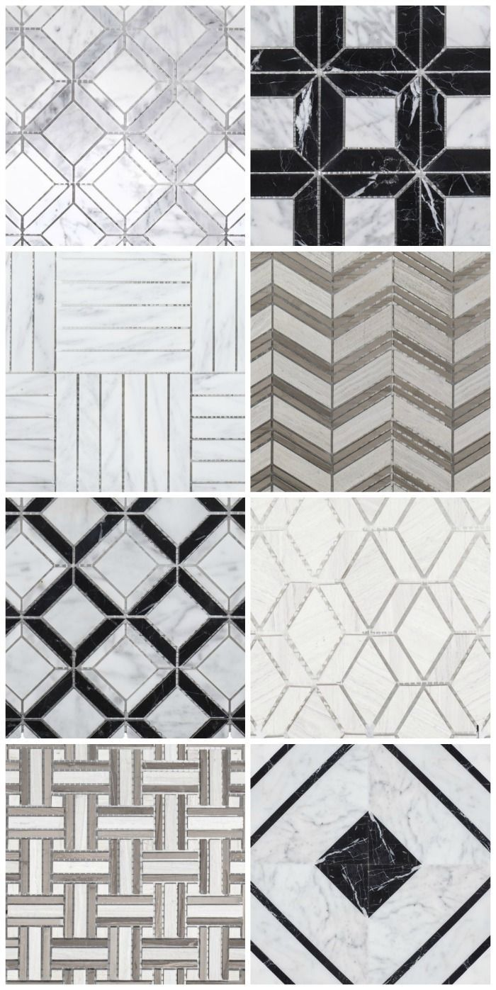 Gorgeous Inexpensive Marble And Limestone Mosaic Tile From Jeff Lewis Sold Through Home Depot Bathr Home Depot Bathroom Tile Jeff Lewis Design Mosaic Tiles