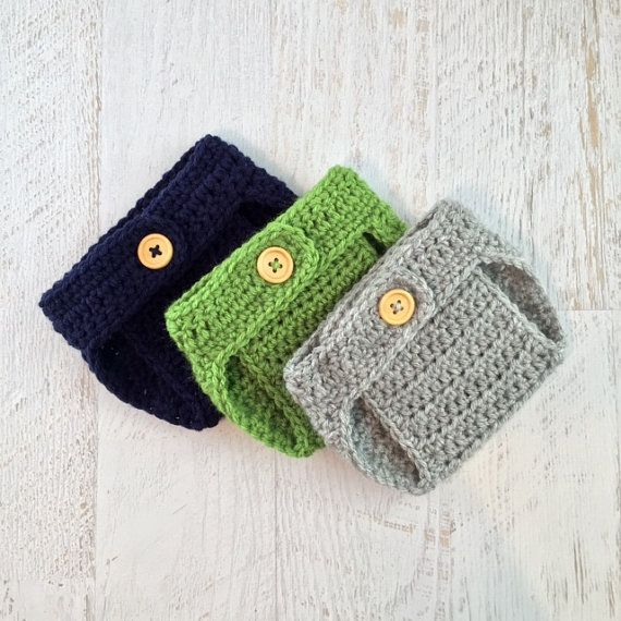 Diaper Cover Set Baby Diaper Cover Crochet by PiecesByChristina